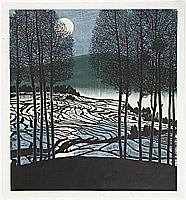Shi Yi born 1939 - Winter Moon
