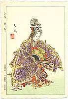 Sofu Matsuno 1899-1963 - Dance of Love -  Twelve Months of Noh Pictures