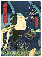Yoshimitsu Sasaki 1850-1891 - Nakamura Sojuro - Kabuki