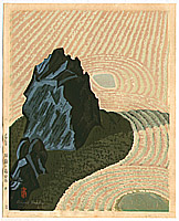 Masao Maeda 1904-1974 - Stone Garden - F