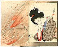 Eisen Tomioka 1864-1905 - Bijin with
