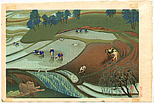 Bakufu Ono 1888-1976 - Rice Paddy