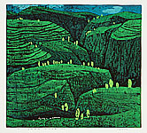 Kang Yongming born 1943 - Green Hill