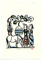 Sadao Watanabe 1913-1996 - Borrowed Donkey - Story of the Bible