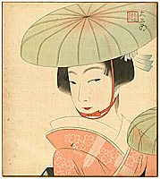 Daisaburo Nakamura 1893-1947 - Dancer with a Hat