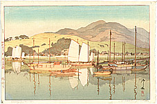 Hiroshi Yoshida 1876-1950 - Waiting for the Tide