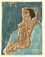 Akiyo Yamada fl.ca. 1940-50s - Nude - Ichimokushu Vol.6