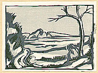 Yutaro Nakagawa 1910-1975 - Scenery of Ryunan