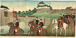 Yasuji Inoue 1864 - 1889 - Imperial Guards
