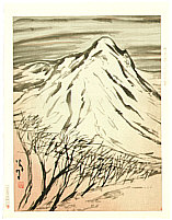 Yumeji Takehisa 1884-1934 - Mountain in Winter