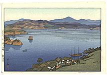 Hiroshi Yoshida 1876-1950 - A Calm Day - Inland Sea
