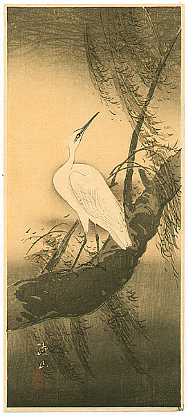 Sozan Ito 1884-? - White Egret