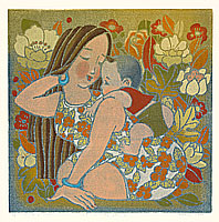 Liu Suying born 1957 - Mother and Child (1)