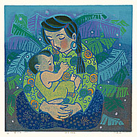 Liu Suying born 1957 - Mother and Child (2)