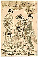Eishi Hosoda 1756-1829 - Four Beauties