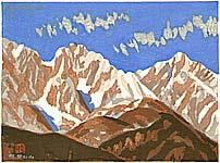 Masao Maeda 1904-1974 - Hakuba Mountains