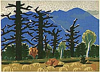 Masao Maeda 1904-1974 - The Battle Field of the Gods