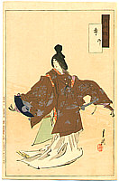 Gekko Ogata 1859-1920 - Dancer - Gekko Zuihitsu