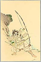 Eisen Tomioka 1864-1905 - Archer