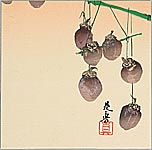 Zeshin Shibata 1807-1891 - Dried Persimmons