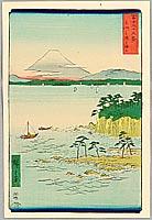 By Hiroshige I (Ando) - Miura - 36 Views of Mt.Fuji