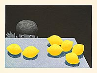Waichi Hayashi born 1951 - Child and Lemon