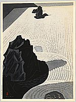 Masao Maeda 1904-1974 - Stone Garden , Ryuan Temple - A