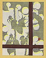 Doshun Mori 1909-1985 - Shadow on Window Pane - Ichimokushu Vol. 5