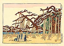 Unichi Hiratsuka 1895-1997 - Karasaki - Eight Sceneries of Ohmi