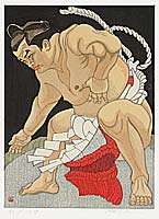 Champion Sumo Wrestler Wajima - By Junichiro Sekino 1914-1988