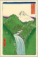 Izu Mountains - By Hiroshige Ando