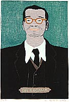 Umetaro Azechi 1902-1999 - Portrait of a Pastor