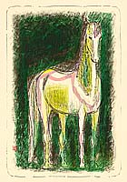 Shingo Yamada 1908-1979 - Horse