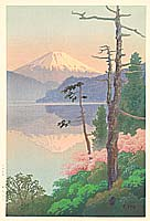 Yuhan Ito active 1930s - Mt. Fuji from Tagonoura Bay
