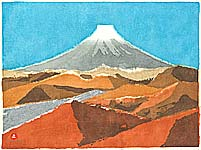 Umetaro Azechi 1902-1999 - Mt. Fuji - 3
