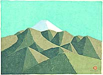 Umetaro Azechi 1902-1999 - Mt. Fuji - 2