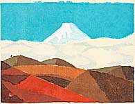 Umetaro Azechi 1902-1999 - Mt. Fuji - 1