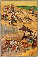 Cyrus Baldridge 1889-1975 - Harvest