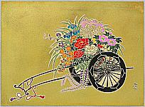 Daisaburo Nakamura 1893-1947 - Flower Cart