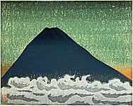 Masao Maeda 1904-1974 - Mt Fuji above Clouds