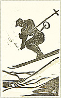 Asaji Kobayashi 1898-1939 - Skiing