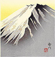 Shinsen Nishino fl.ca. 1960-90s - Mt. Fuji