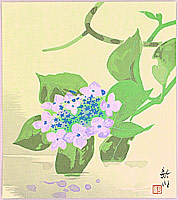 Shinsen Nishino fl.ca. 1960-90s - Hydrangea