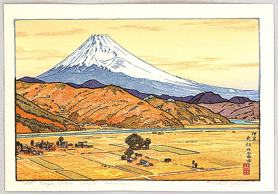 Mount Fuji from Ohito - Toshi Yoshida (1911-1995)