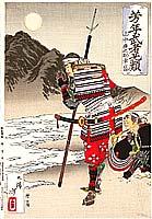 Yoshitoshi Taiso 1839-1892 - Loyal Samurai