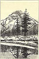 Daido Kato 1896-1965 - Early Winter at Kamikochi