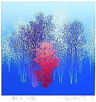 Souho Ikegami born 1940 - Trees #34