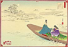 Gekko Ogata 1859-1920 - Twelve Months of the Floating World - December