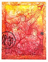 Wen Mujiang born 1970 - Red Tone No.4