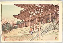 Hiroshi Yoshida 1876-1950 - Chion-in Temple